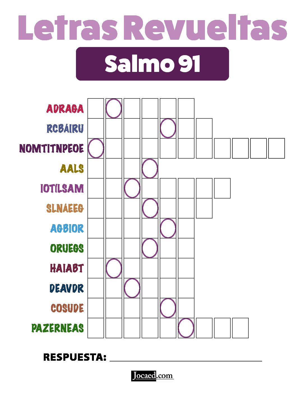 Salmo 91 - Letras Revueltas