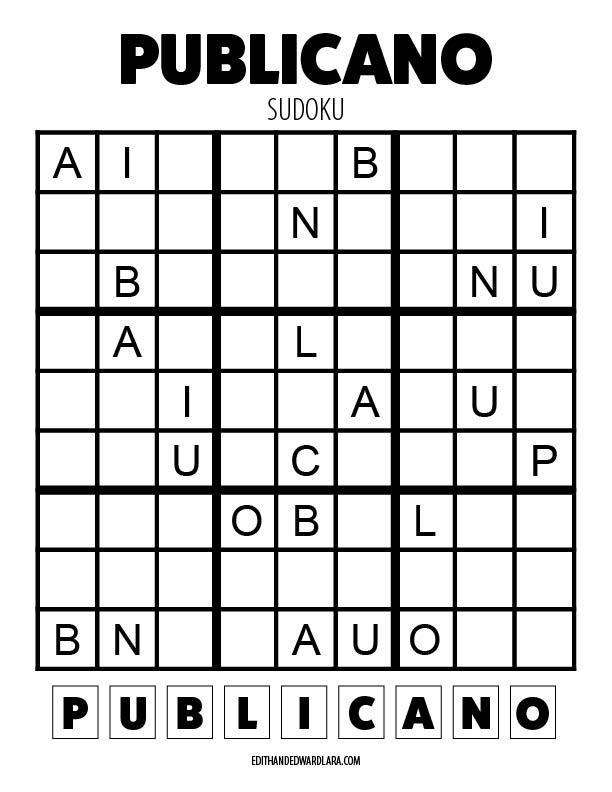 Publicano - Sudoku - 9x9